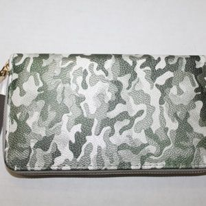 Glam Bag Wallet Style 1078CP Silver